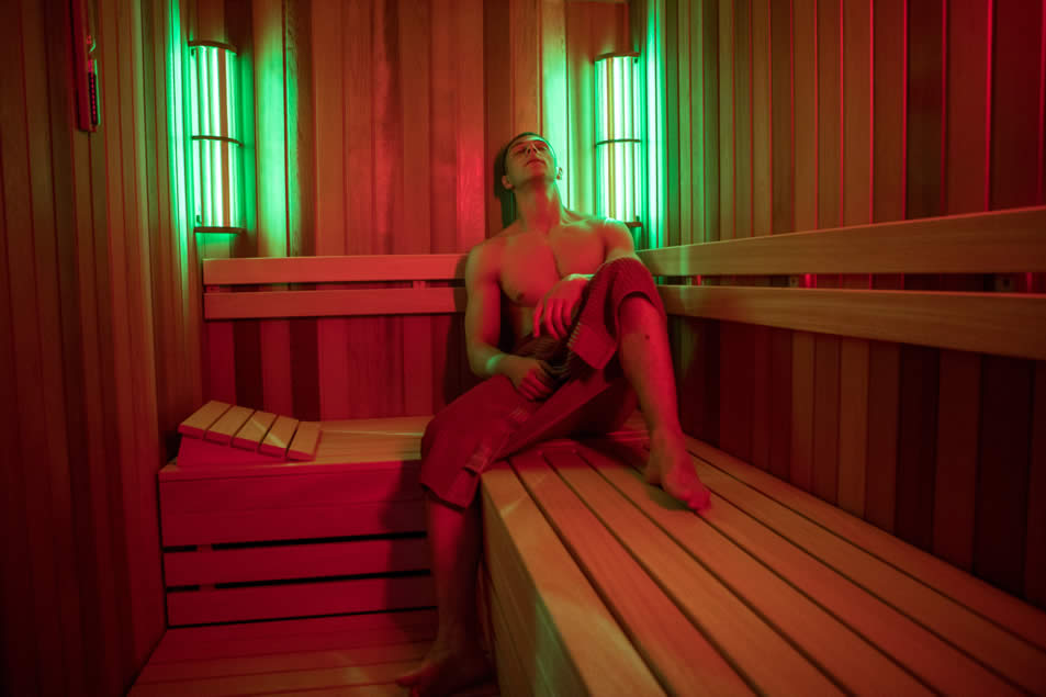 Aromatherapy and Chromo therapy Finnish Sauna